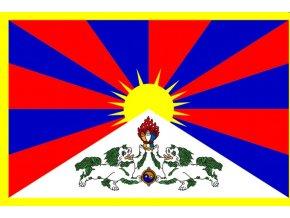 Vlajka Tibet o velikosti 90 x 150 cm