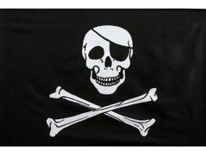 Vlajka Pirát o velikosti 90 x 150 cm