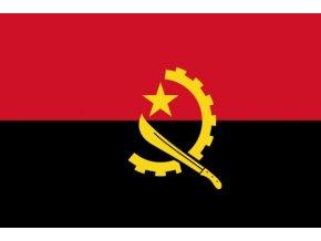 Vlajka Angoly o velikosti 90 x 150 cm