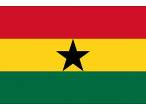 Vlajka Ghany o velikosti 90 x 150 cm
