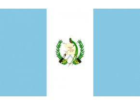 Vlajka Guatemaly o velikosti 90 x 150 cm