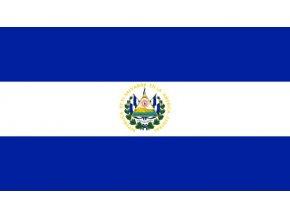 Vlajka El Salvádoru o velikosti 90 x 150 cm