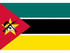 Vlajka Mosambiku o velikosti 90 x 150 cm