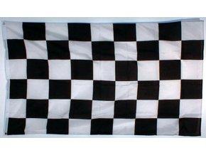 Cílová vlajka (šachovnice) o velikosti 90 x 150 cm