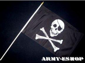 Vlaječka - praporek Pirát 30 x 45 cm