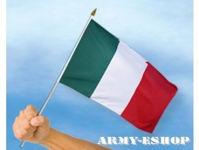 Vlaječka - praporek Itálie 30 x 45 cm