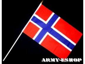 Vlaječka - praporek Norsko 30 x 45 cm