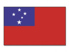 Vlajka Samoa o velikosti 90 x 150 cm