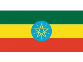 Vlajka Etiopie o velikosti 90 x 150 cm