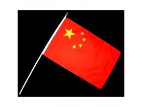 Vlaječka - praporek Čína 30 x 45 cm