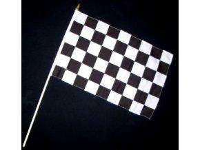 Vlaječka - praporek cílová (šachovnice) 30 x 45 cm