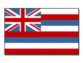 Vlajka Hawai o velikosti 90 x 150 cm