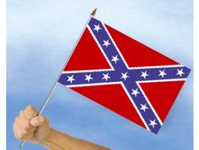 Vlaječka - praporek Konfederace 30 x 45 cm