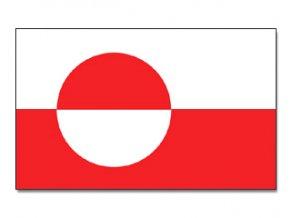 Vlajka Grónsko o velikosti 90 x 150 cm