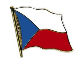 Odznáček vlajka Česká republika