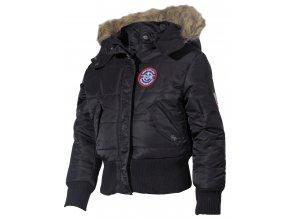 US dětská bunda Aljaška N2B černá