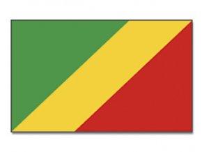 Vlajka Kongo o velikosti 90 x 150 cm