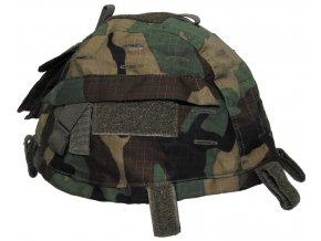 Návlek - potah na helmu woodland