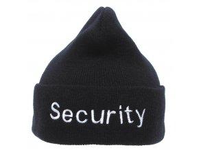 Čepice ohrnovací Acryl černá Security