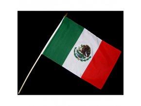 Vlaječka - praporek Mexiko 30 x 45 cm