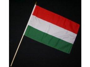 Vlaječka - praporek Maďarsko 30 x 45 cm