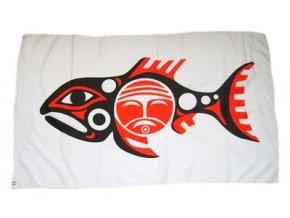 Vlajka indiánská - Chinookové 90 x 150 cm