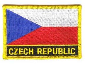 Nášivka Česká republika CZECH REPUBLIC