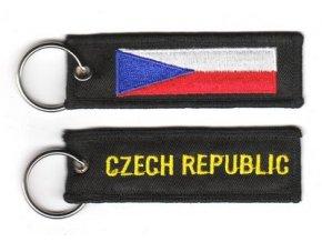 Přívěšek na klíče Česká republika
