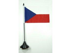 Stolní vlaječka Česká republika 11 x 16 cm