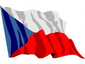 Vlajka ČR - Česká republika 150 x 250 cm