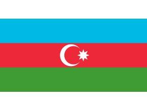 Vlajka Azerbajdžán o velikosti 90 x 150 cm