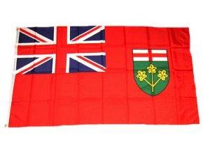 Vlajka Kanada - Ontario 90 x 150 cm