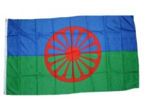 Vlajka Rómská (Sinti) 90 x 150 cm