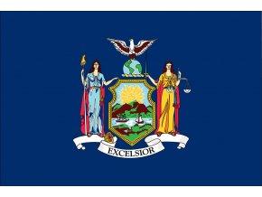 Vlajka New York o velikosti 90 x 150 cm