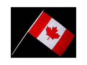Vlaječka - praporek Kanada 30 x 45 cm