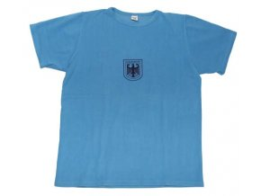 Tričko BUNDESWEHR modré originál