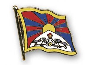 flaggen pins tibet