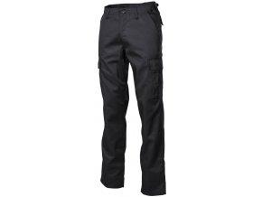 US klasické kalhoty BDU černé - módní úprava