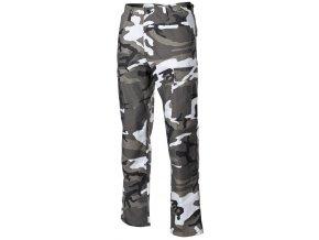 US klasické kalhoty BDU urban s podšitými koleny a sedací částí