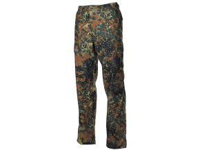 US klasické kalhoty BDU flecktarn