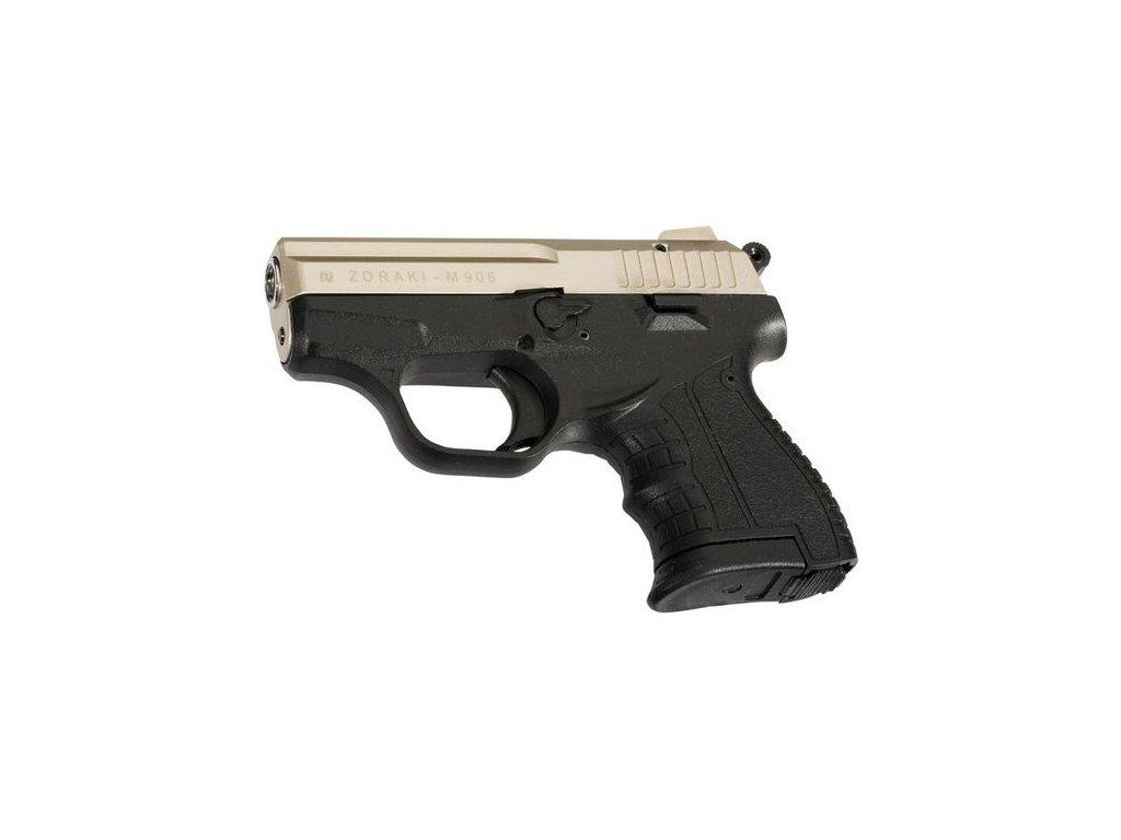 Plynová pistole Atak Arms Zoraki 906 Saten cal. 9mm P.A.Knall