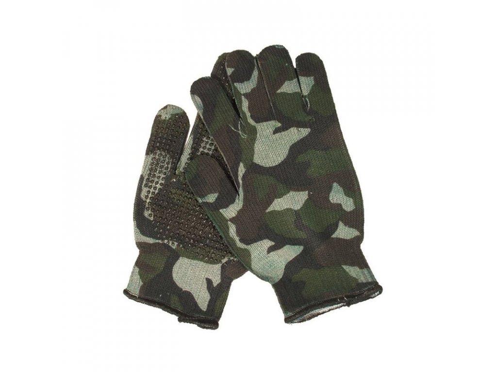 Rukavice GREAT DAY US Gripper Spandoflage® Woodland