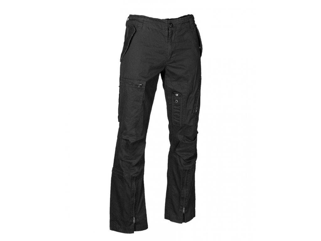 Kalhoty MIL TEC Pilot Stright Cut Černé