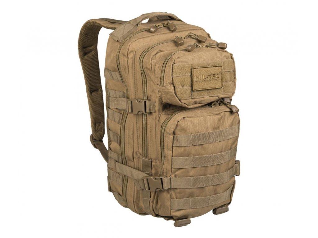 Batoh MIL TEC US Assault Pack SM 20l coyote