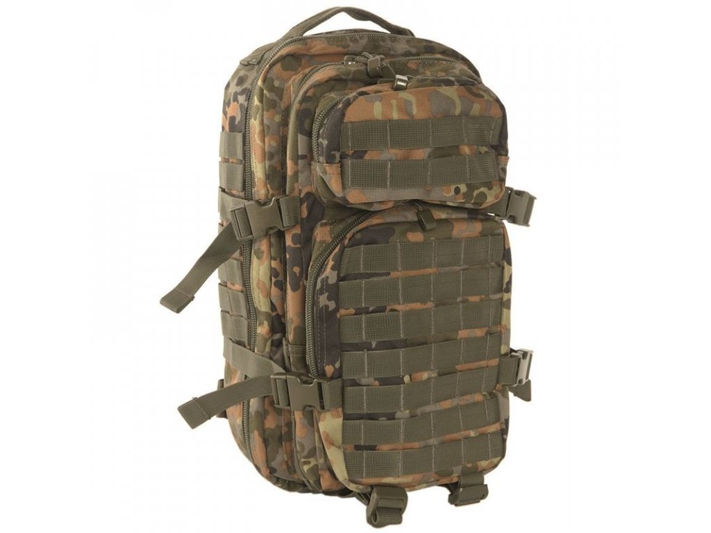 Batoh MIL-TEC US Assault Pack SM 20l Flecktarn