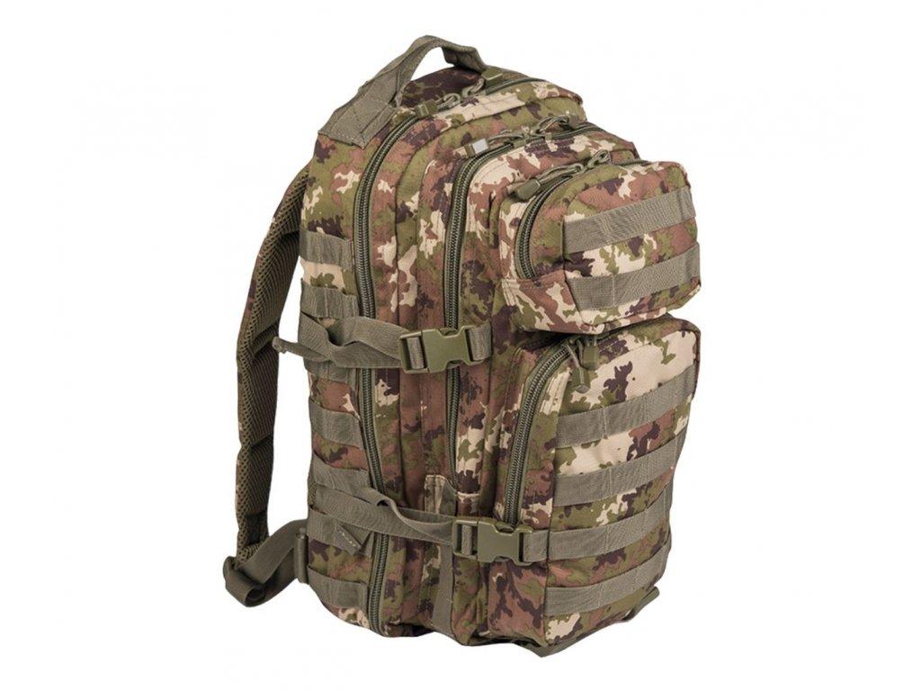 Batoh MIL TEC US Assault Pack SM 20l vegetato woodland