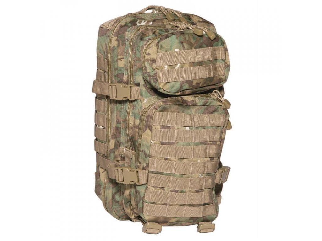 Batoh MIL-TEC US Assault Pack SM 20l Arid-Woodland®