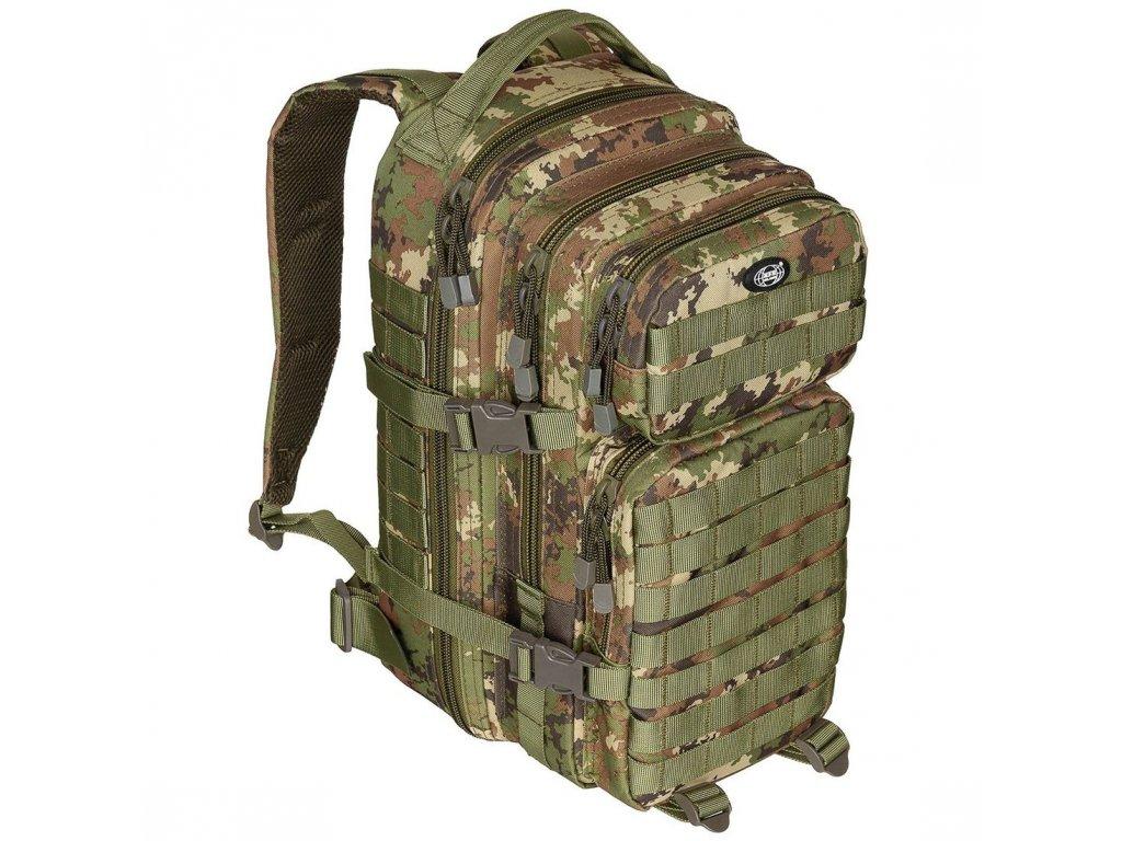 batoh us assault pack 30l vegetato woodland max fuchs
