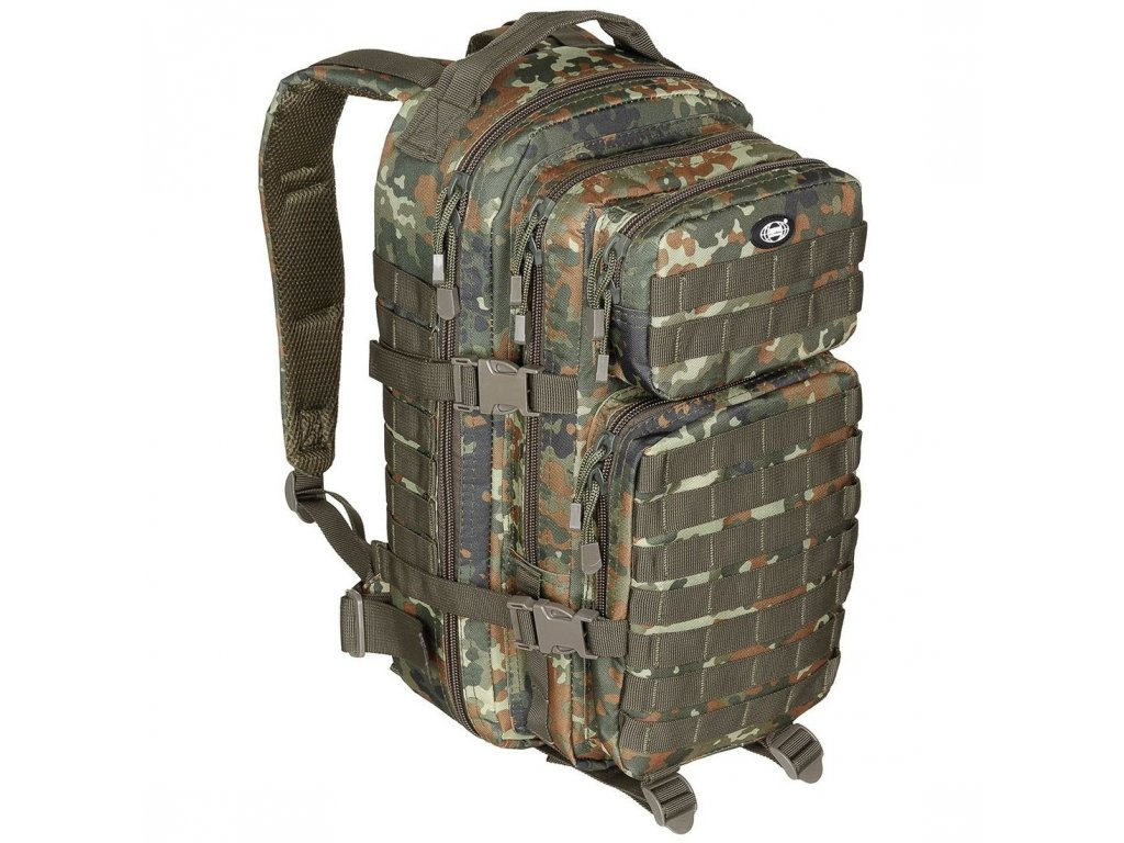 Batoh Max-Fuchs US Assault Pack 30l Flecktarn