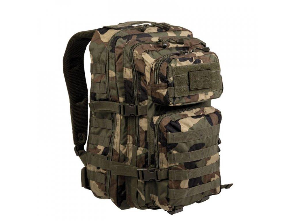 Batoh MIL-TEC US Assault Pack LG 36l Woodland